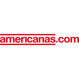 Logo Americanas.com, no site do EIVE, ERP para e-commerce