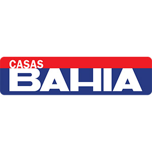 Logo Casas Bahia, no site do EIVE, ERP para e-commerce