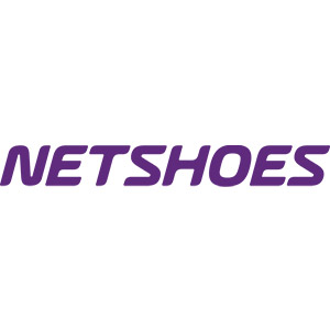 Logo Netshoes, no site do EIVE, ERP para e-commerce