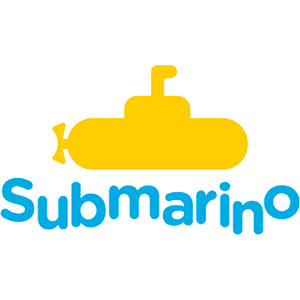 Logo Submarino, no site do EIVE, ERP para e-commerce