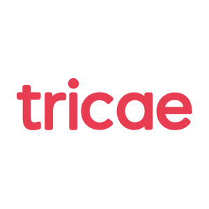 Logo Tricae, no site do EIVE, ERP para e-commerce