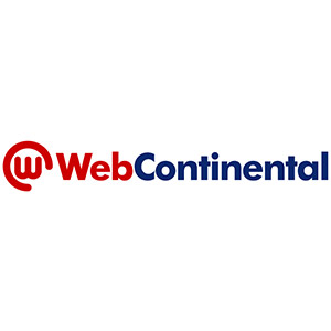Logo WebContinental, no site do EIVE, ERP para e-commerce